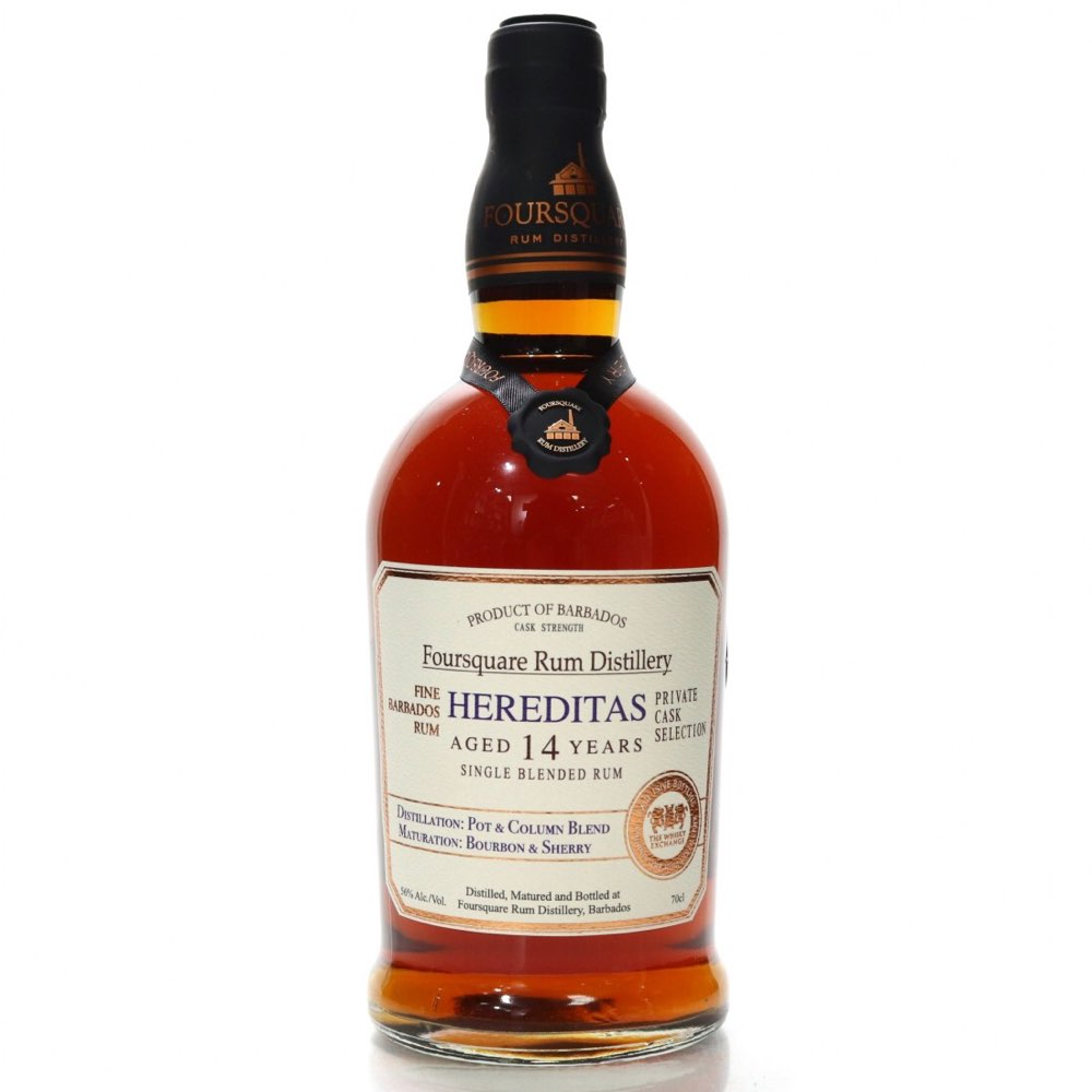 Bottle image of Private Cask Selection Hereditas (The Whisky Exchange)