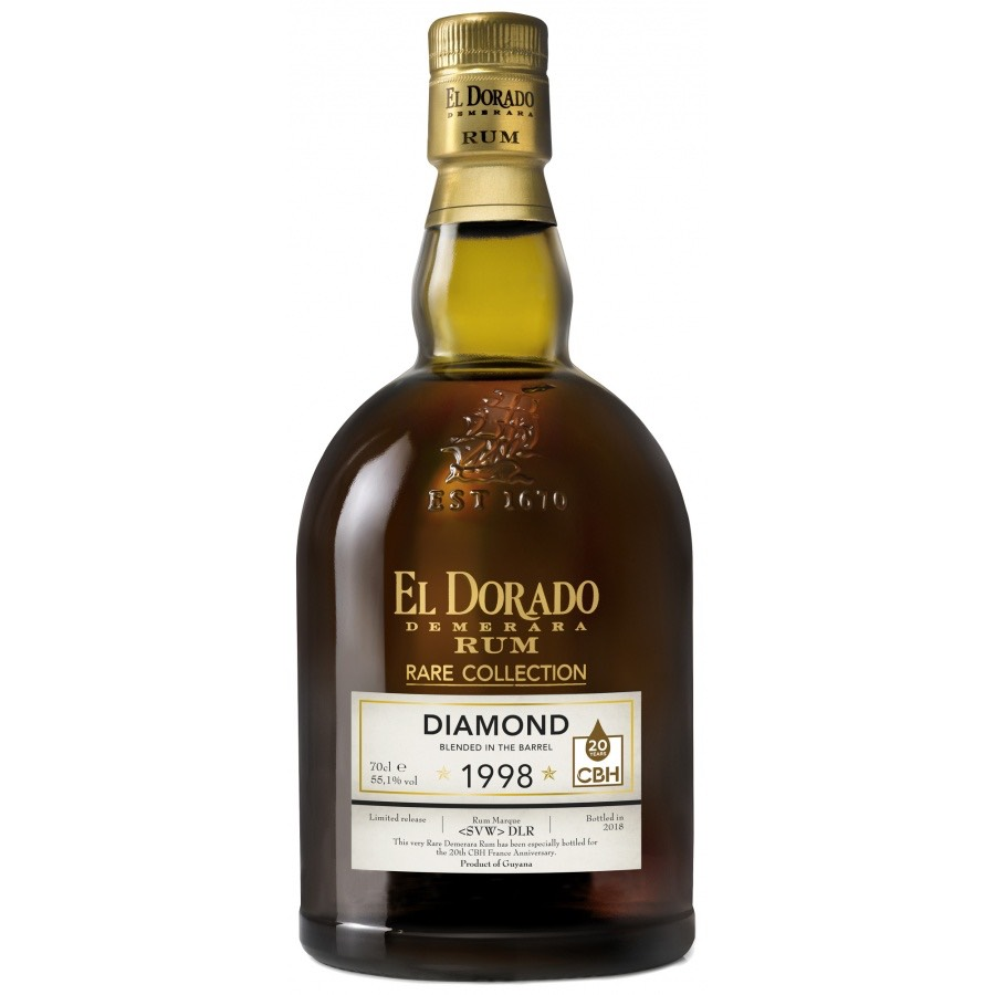 Bottle image of El Dorado Rare Collection CBH <SVW> DLR