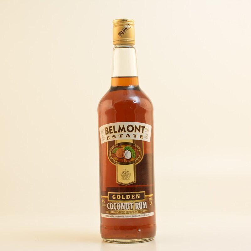 Bottle image of Belmont Estate Gold Coconut Rum