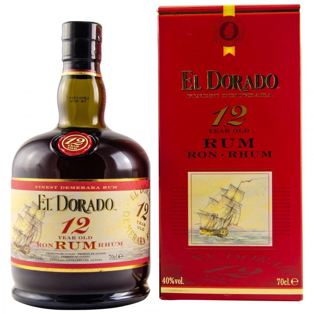 Bottle image of El Dorado 12