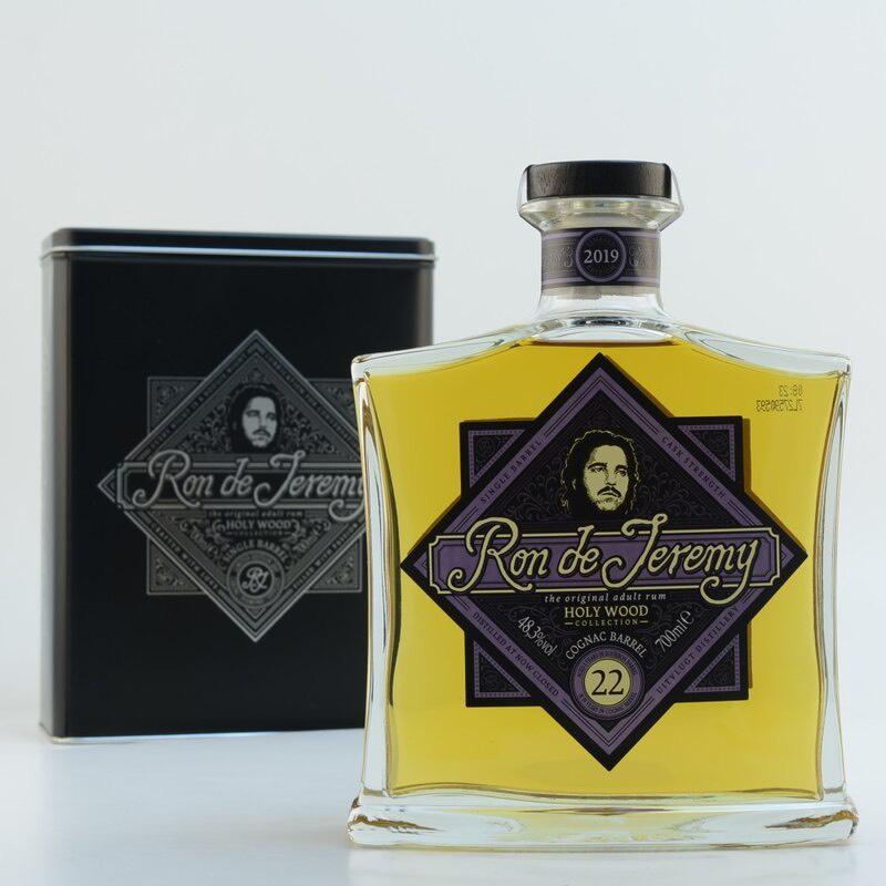 Bottle image of Ron de Jeremy Holy Wood 22 YO Cognac Barrel