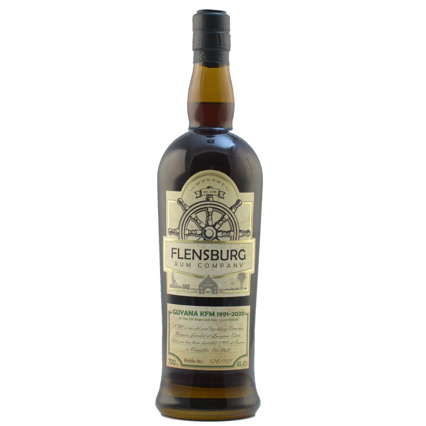 Bottle image of Flensburg Rum Company Guyana (Kirsch Whisky) KFM