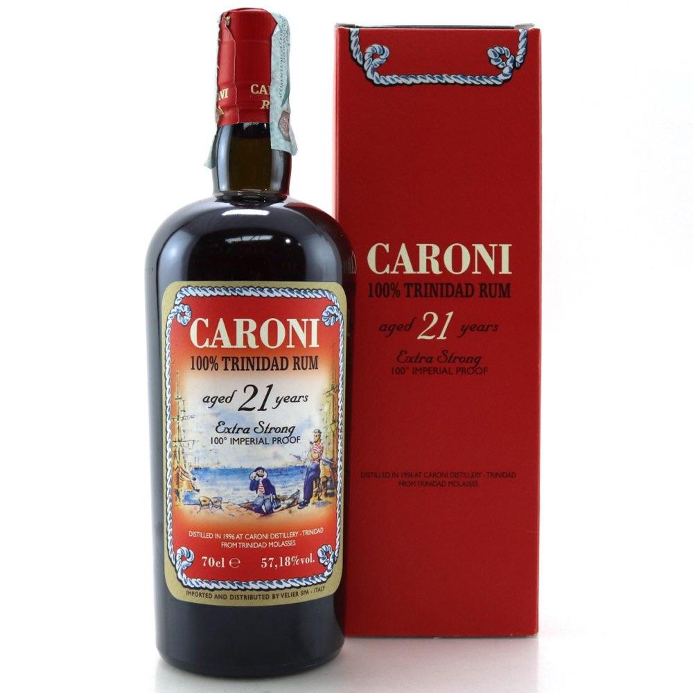 Bottle image of 100% Trinidad Rum 21