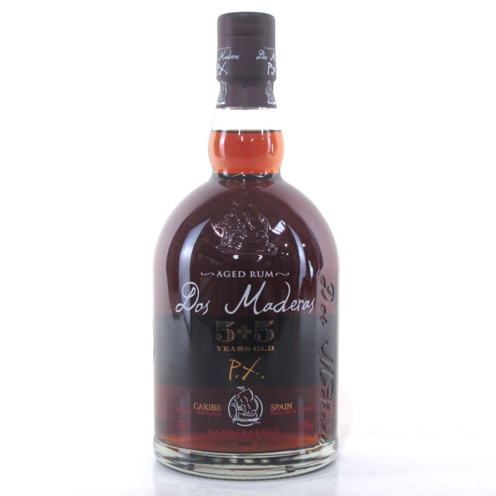 Bottle image of Dos Maderas 5 Years + 5 Years PX