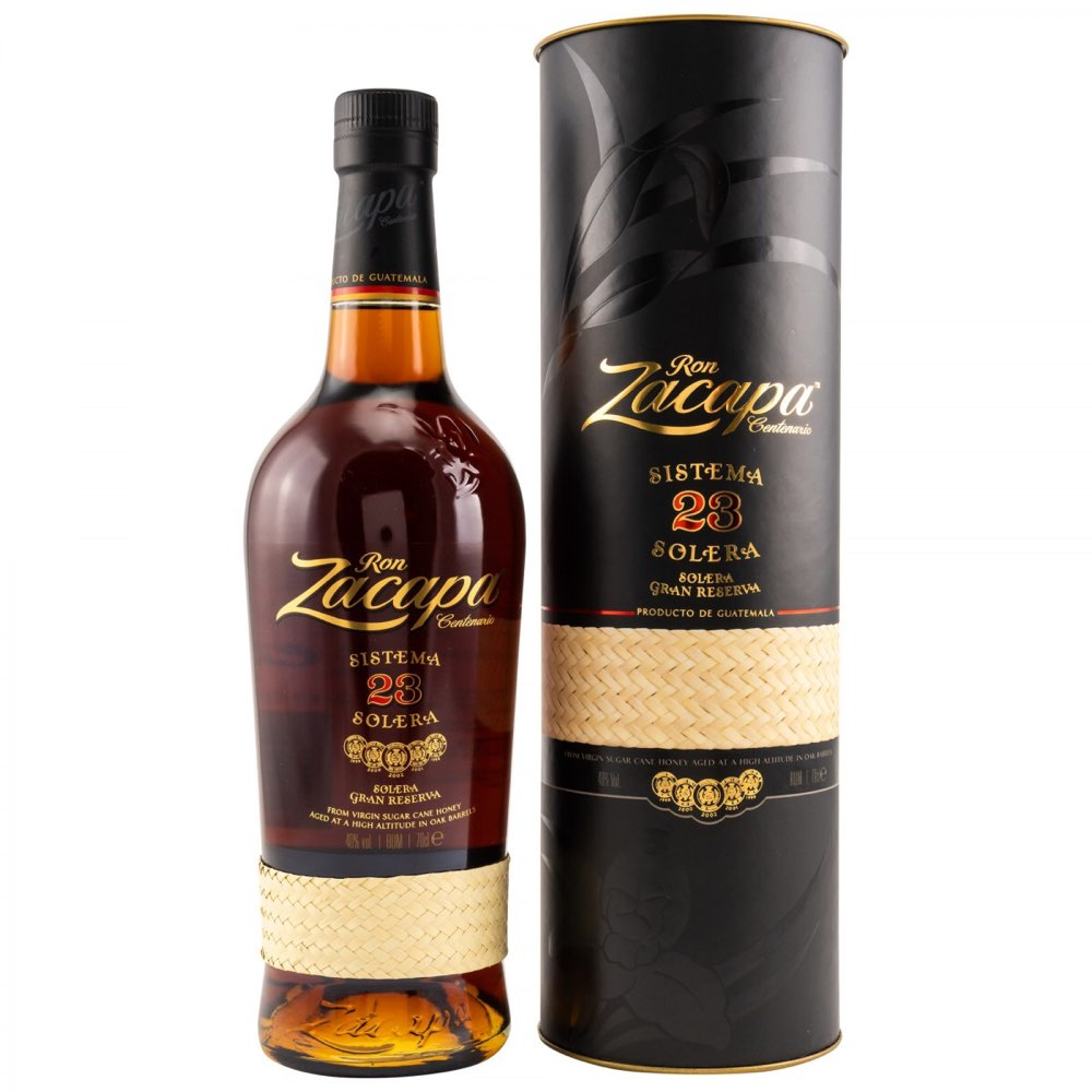 Bottle image of Ron Zacapa Solera Centenario 23