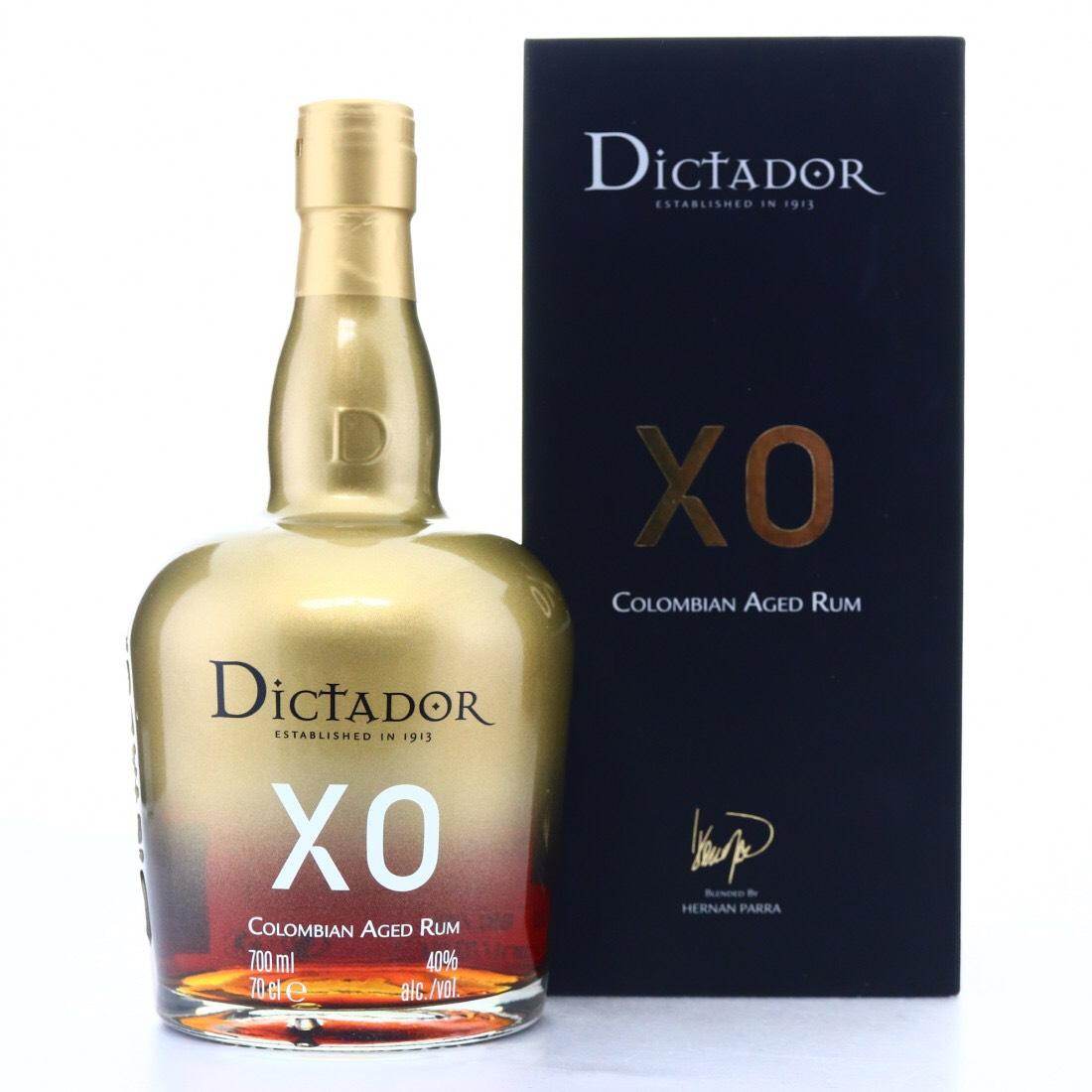 Bottle image of Dictador XO