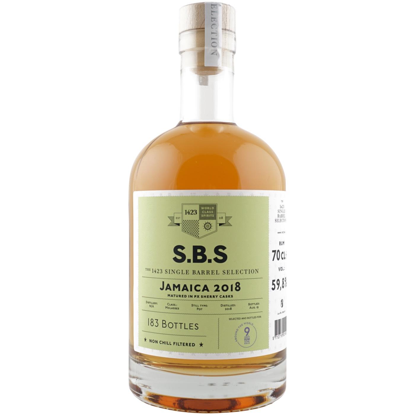 Bottle image of S.B.S Jamaica (9. German Rum Festival) DOK