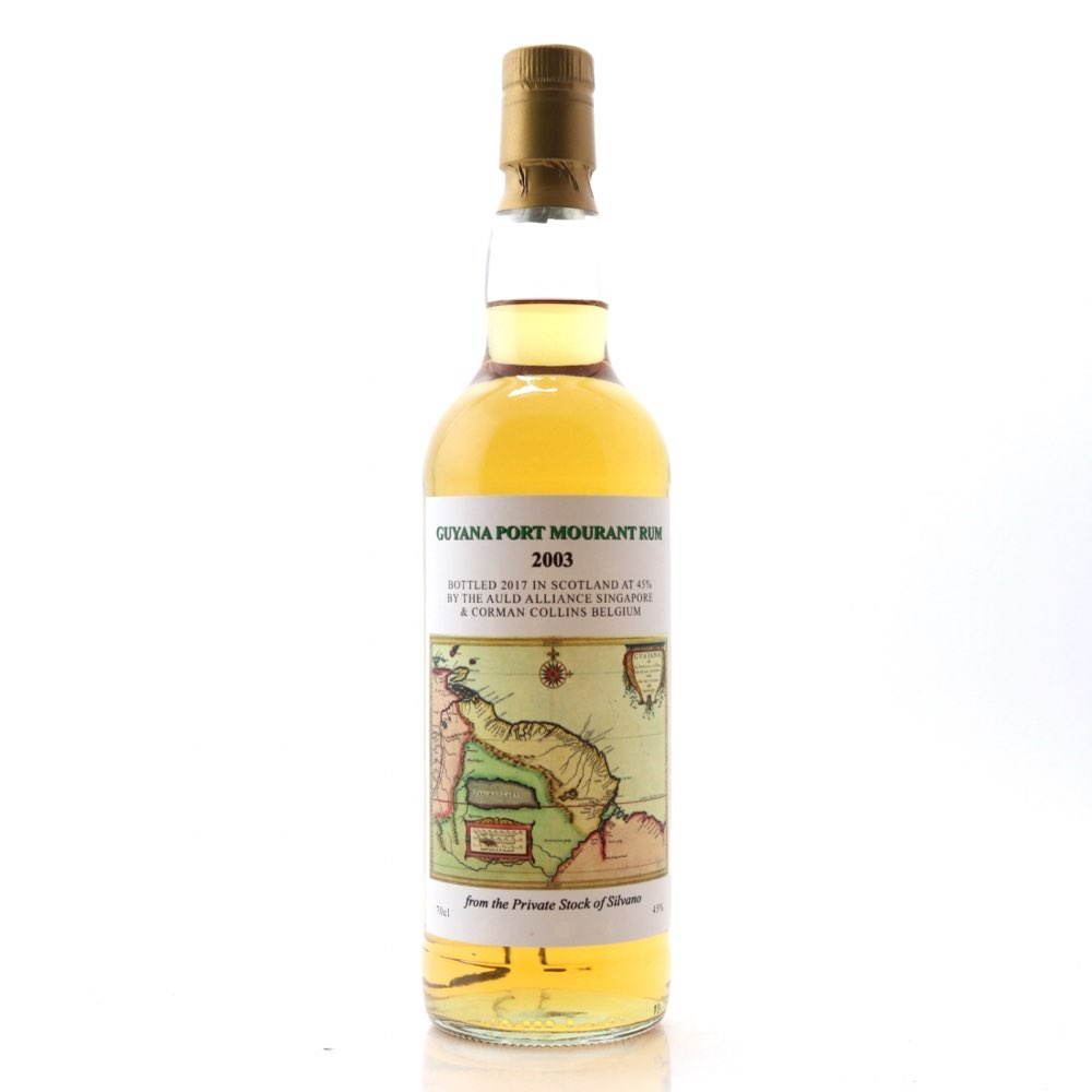 Bottle image of Guyana Port Mourant Rum