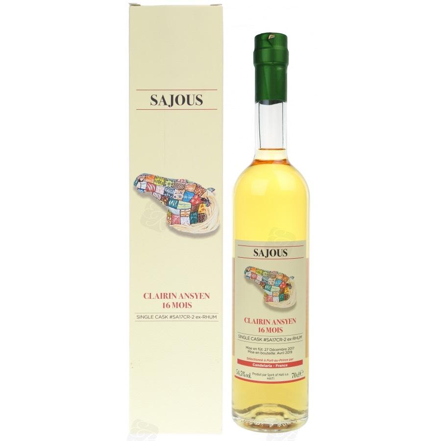 Bottle image of Clairin Ansyen Sajous (Caroni Cask)
