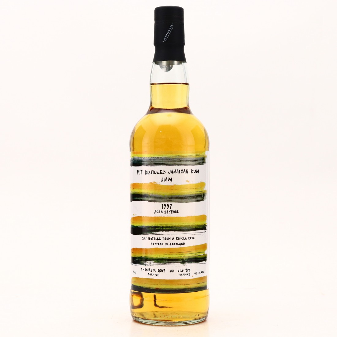 Bottle image of Pot Distilled Jamaican Rum (Bar Tre) JMM
