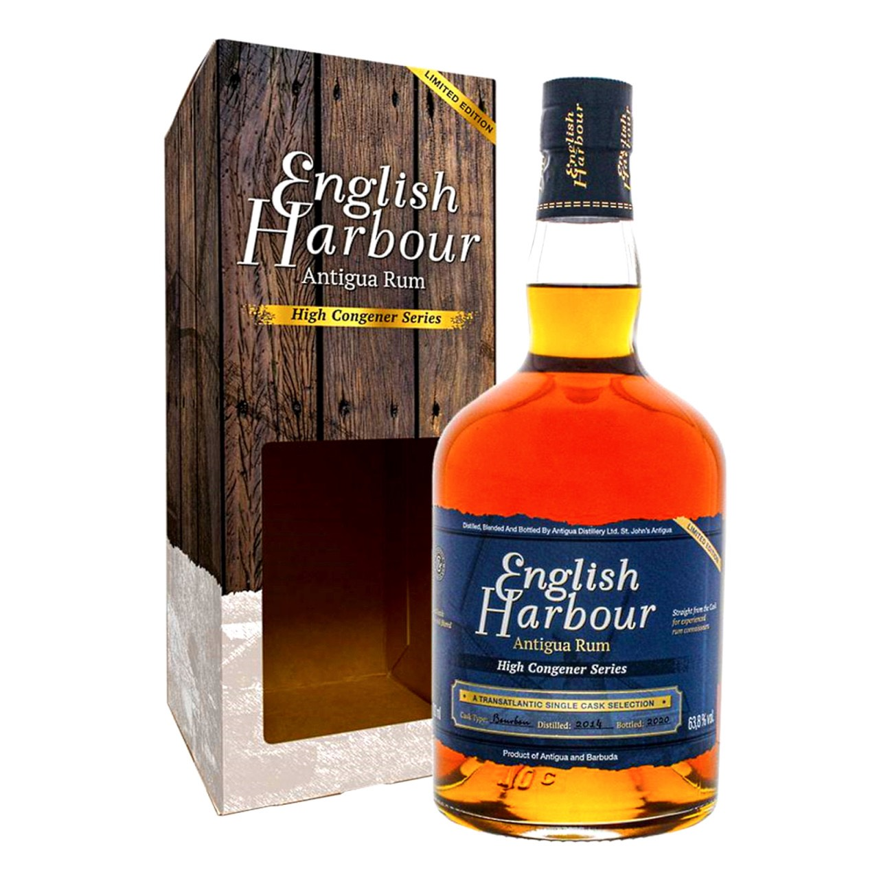 Bottle image of English Harbour High Congener Series