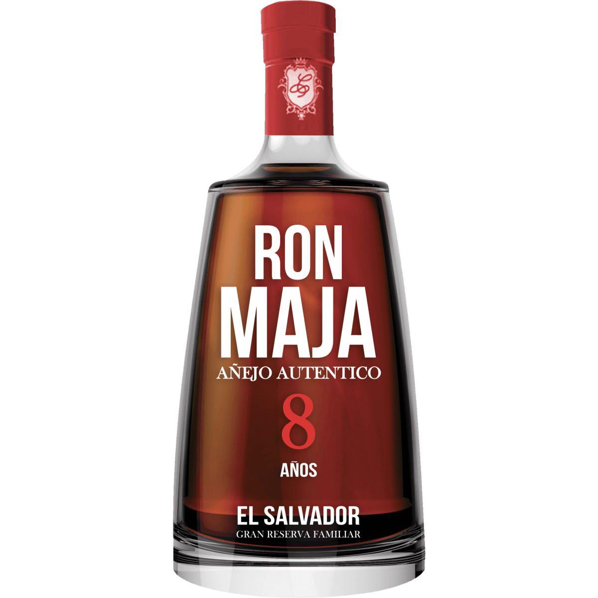 Bottle image of Ron Maja 8 Años