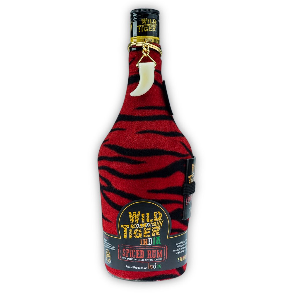 Bottle image of Wild Tiger India Spiced Rum