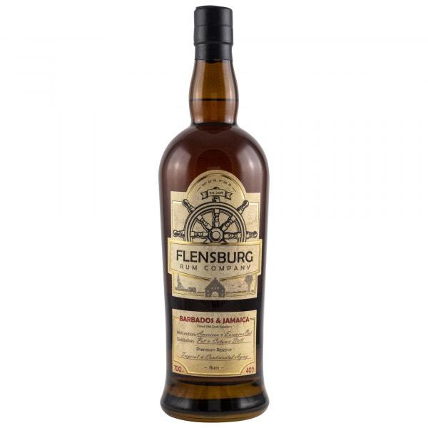 Bottle image of Flensburg Rum Company Barbados & Jamaica