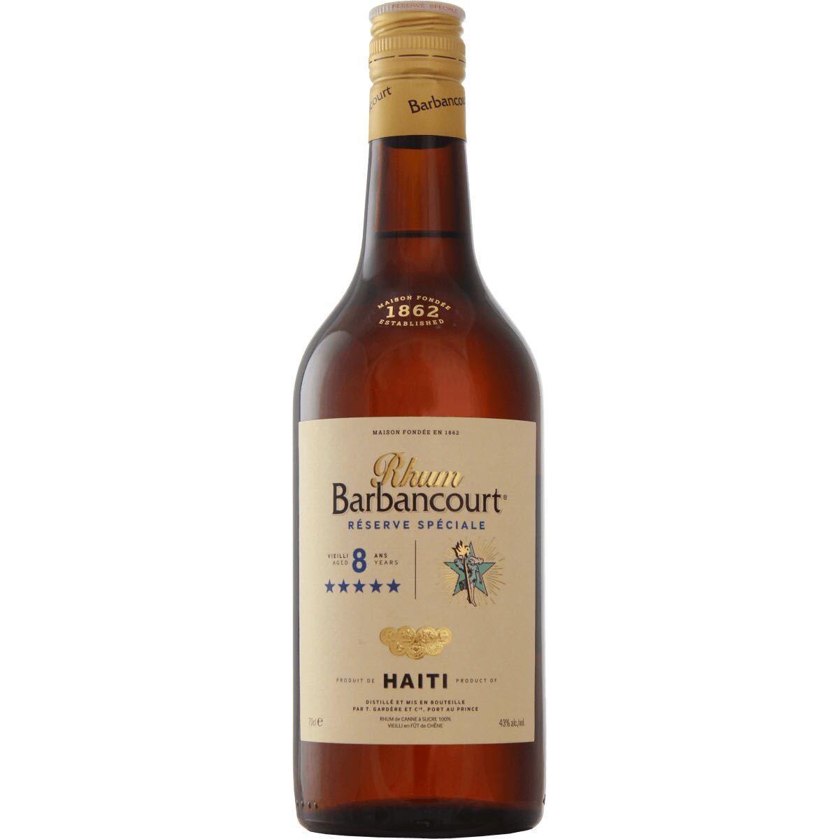 Bottle image of 5 Stars 8 Years Réserve Spéciale