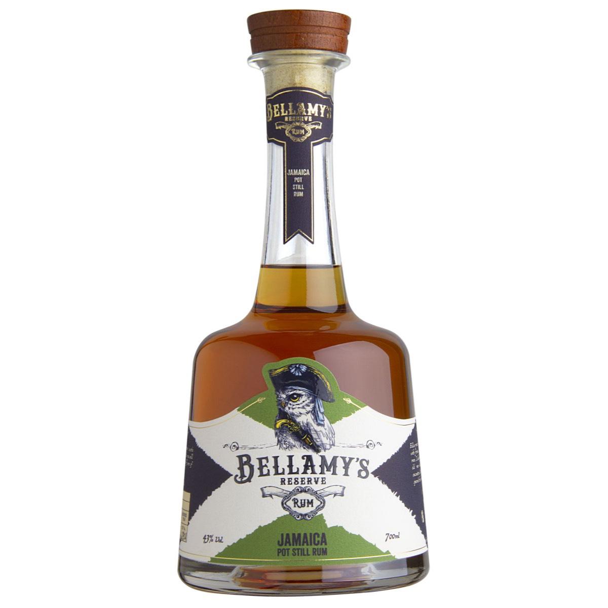 Bottle image of Bellamy's Reserve Rum Jamaica Pot Still Rum