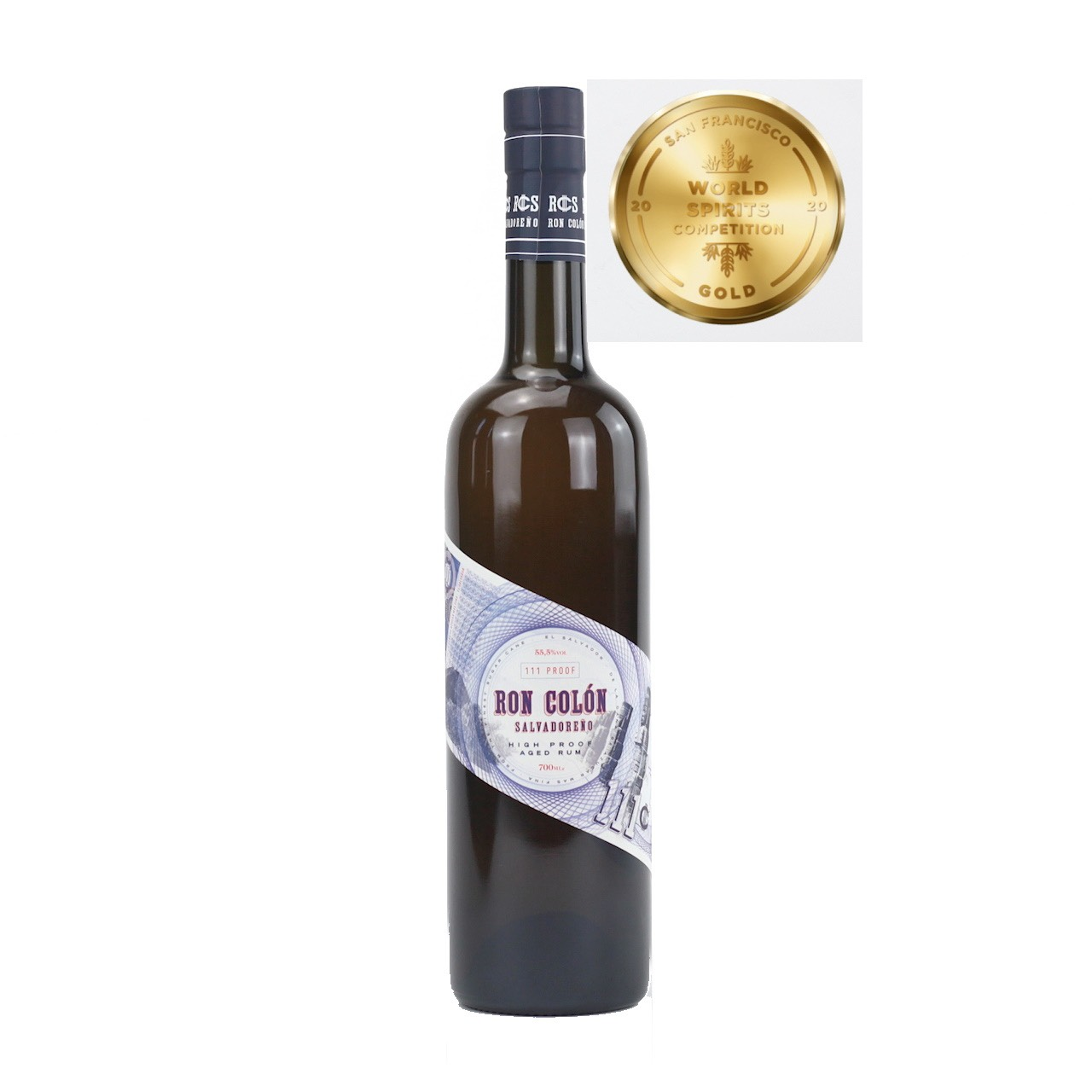 Bottle image of Ron Colon High Proof