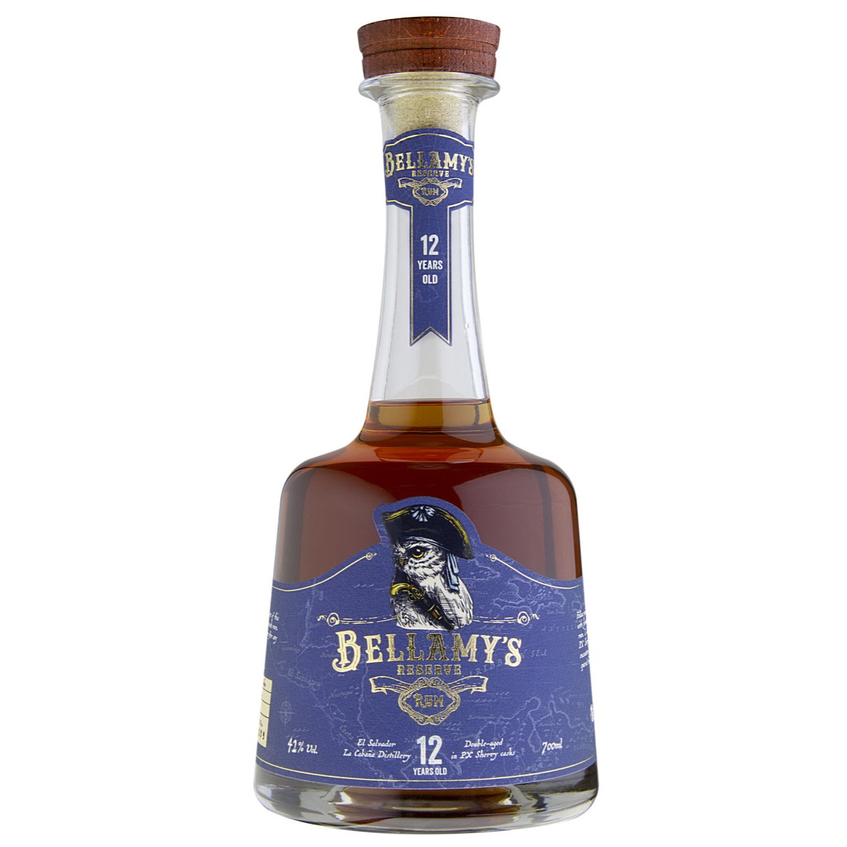 Bottle image of Bellamy's Reserve El Salvador 12 years old PX Sherry Cask Finish