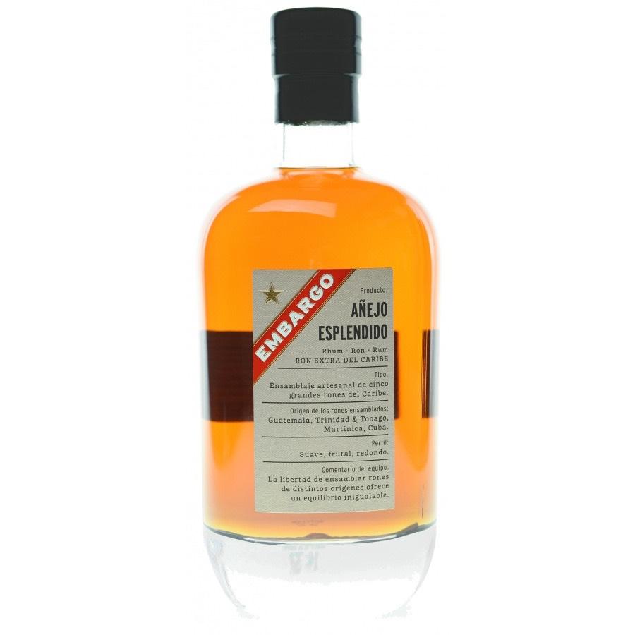 Bottle image of Embargo Añejo Esplendido