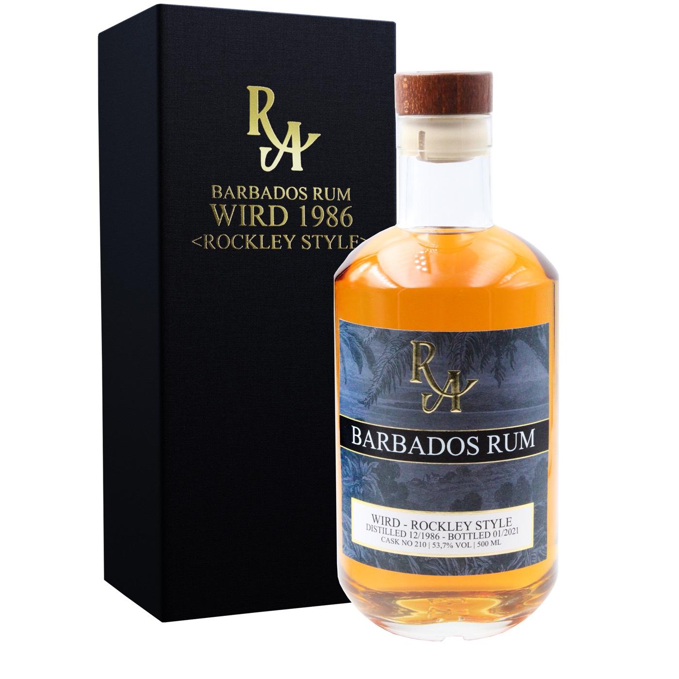 Bottle image of Rum Artesanal Barbados Rum Rockley Style BBR