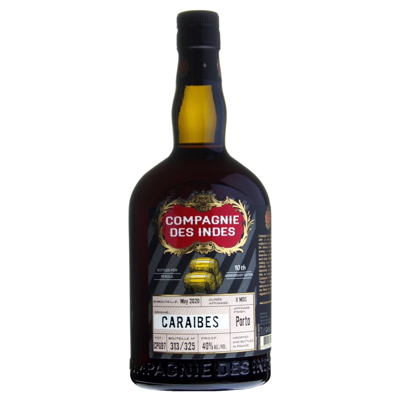 Bottle image of Caraïbes - Port Cask Finish (Perola 10th Anniversary)