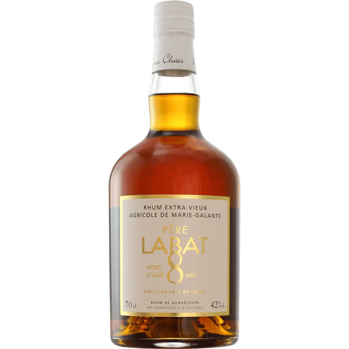 Bottle image of Père Labat 8 Ans Très Vieux