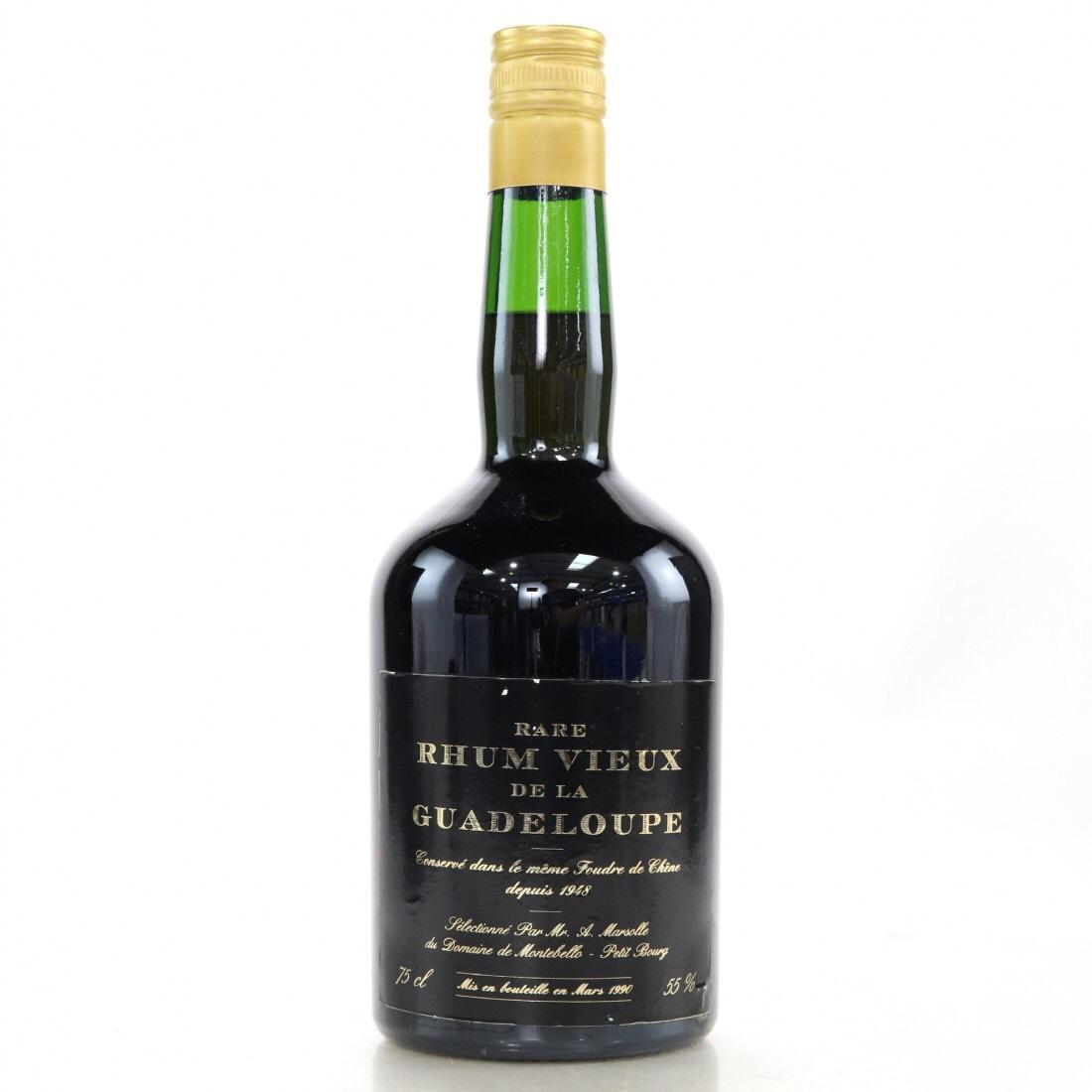Bottle image of Montebello Rare Rhum Vieux