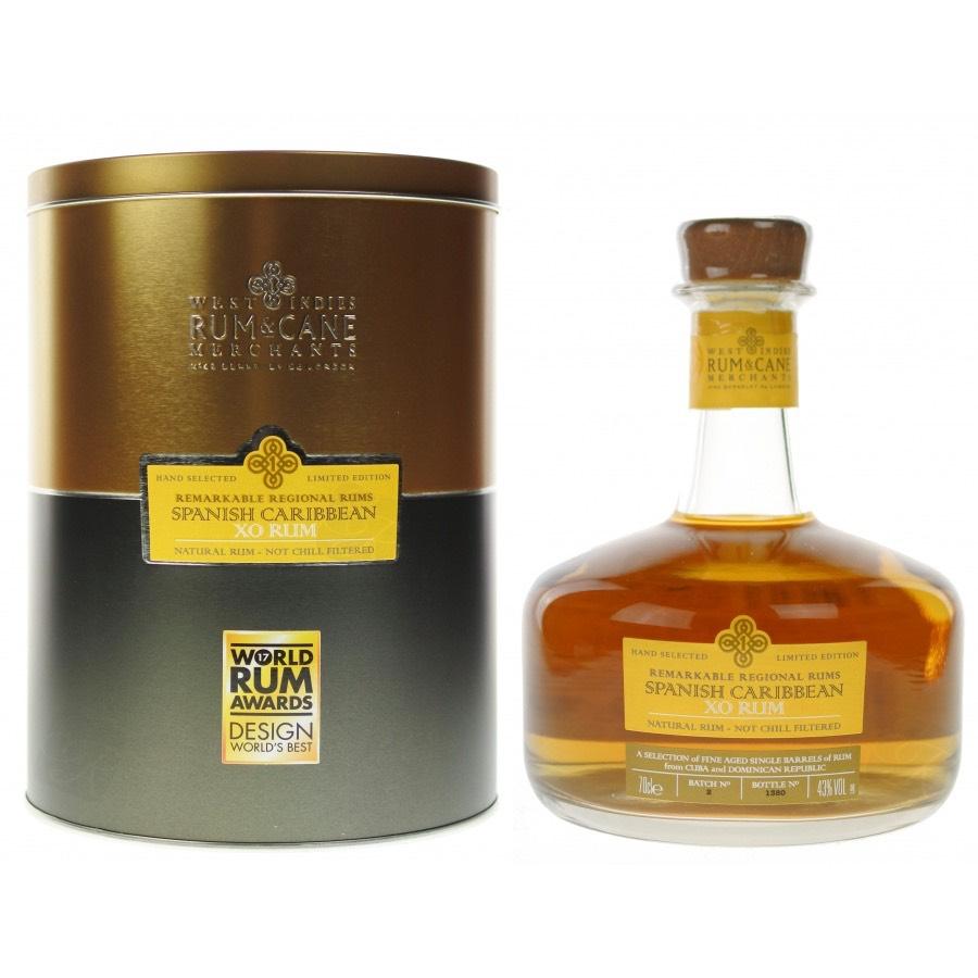 Bottle image of Rum & Cane Spanish Caribbean XO