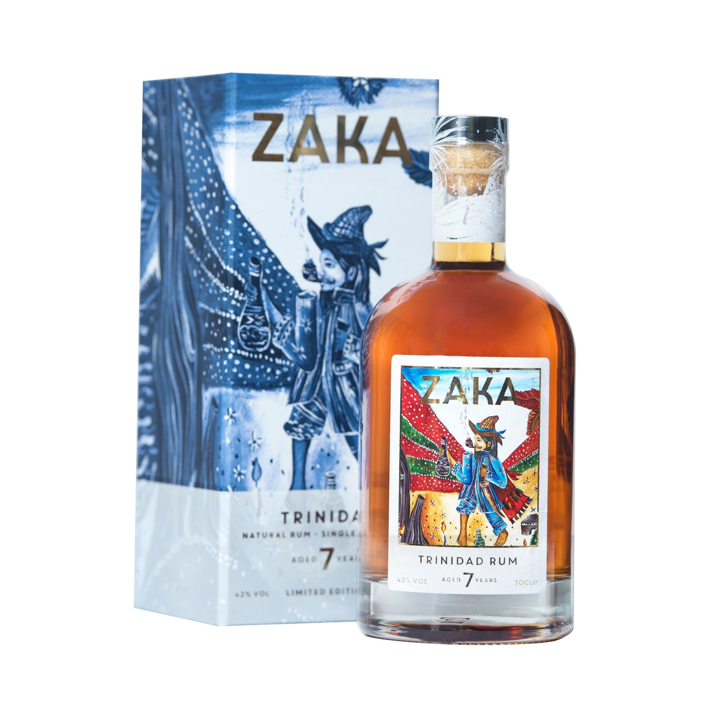 Bottle image of Zaka Trinidad