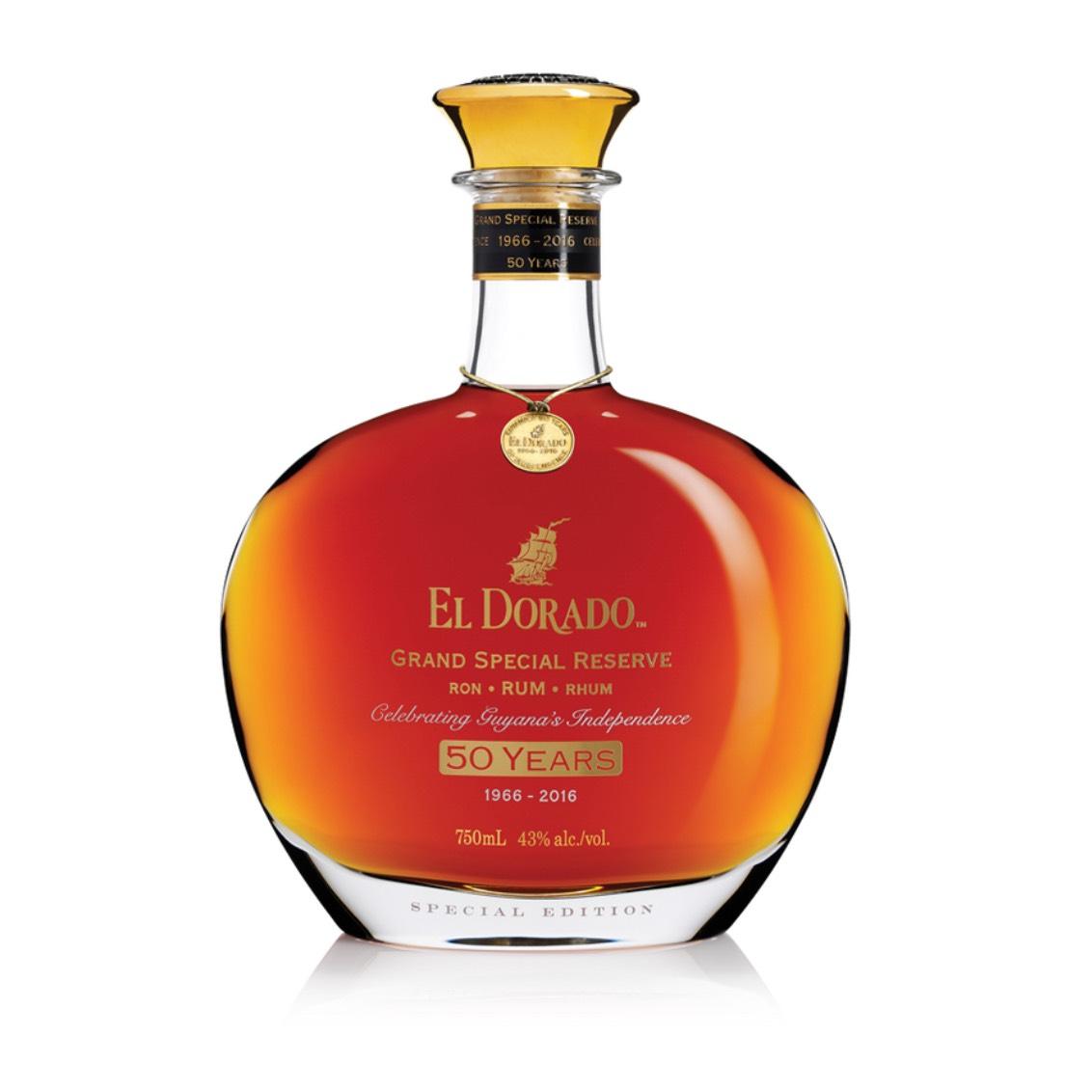 Bottle image of El Dorado Grand Special Reserve