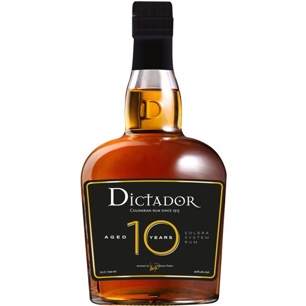 Bottle image of Dictador 10 Years