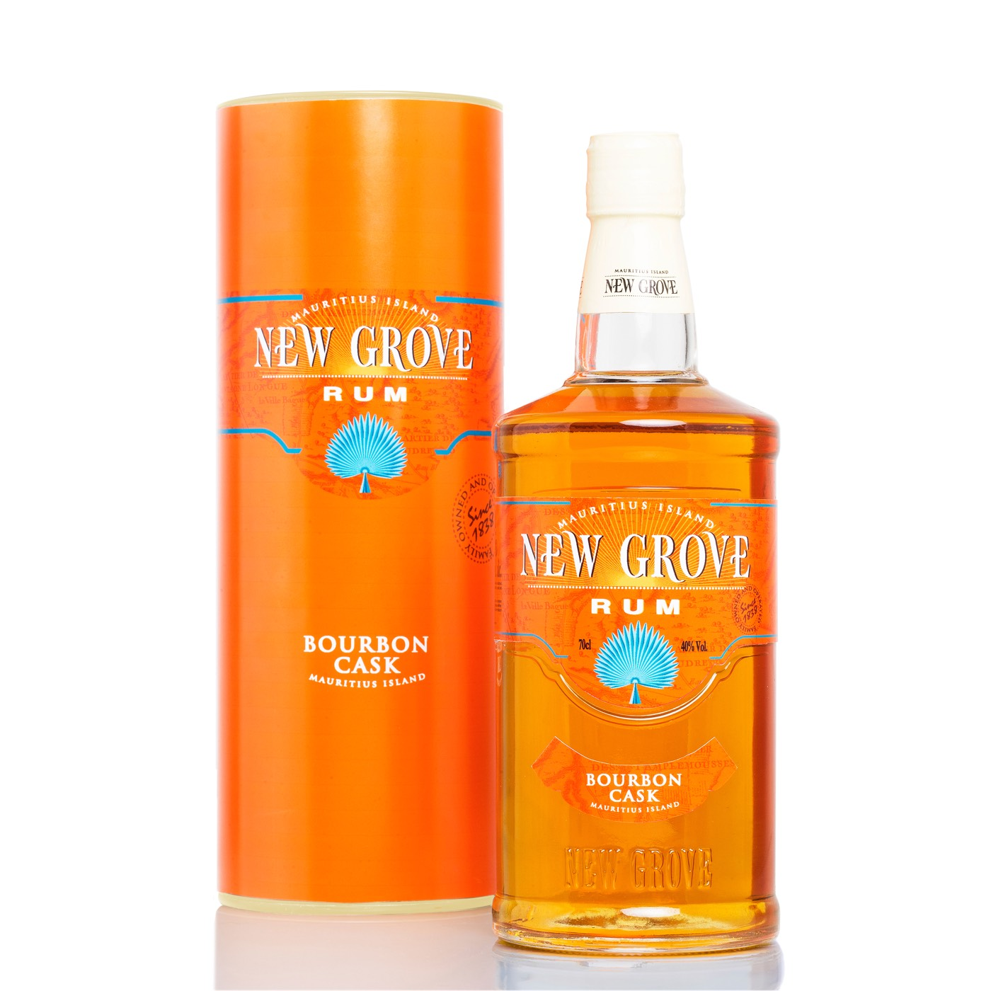 Bottle image of New Grove Bourbon Cask Rum