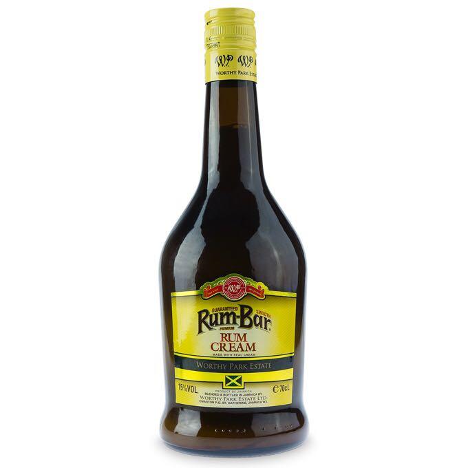 Bottle image of Rum-Bar Rum Cream