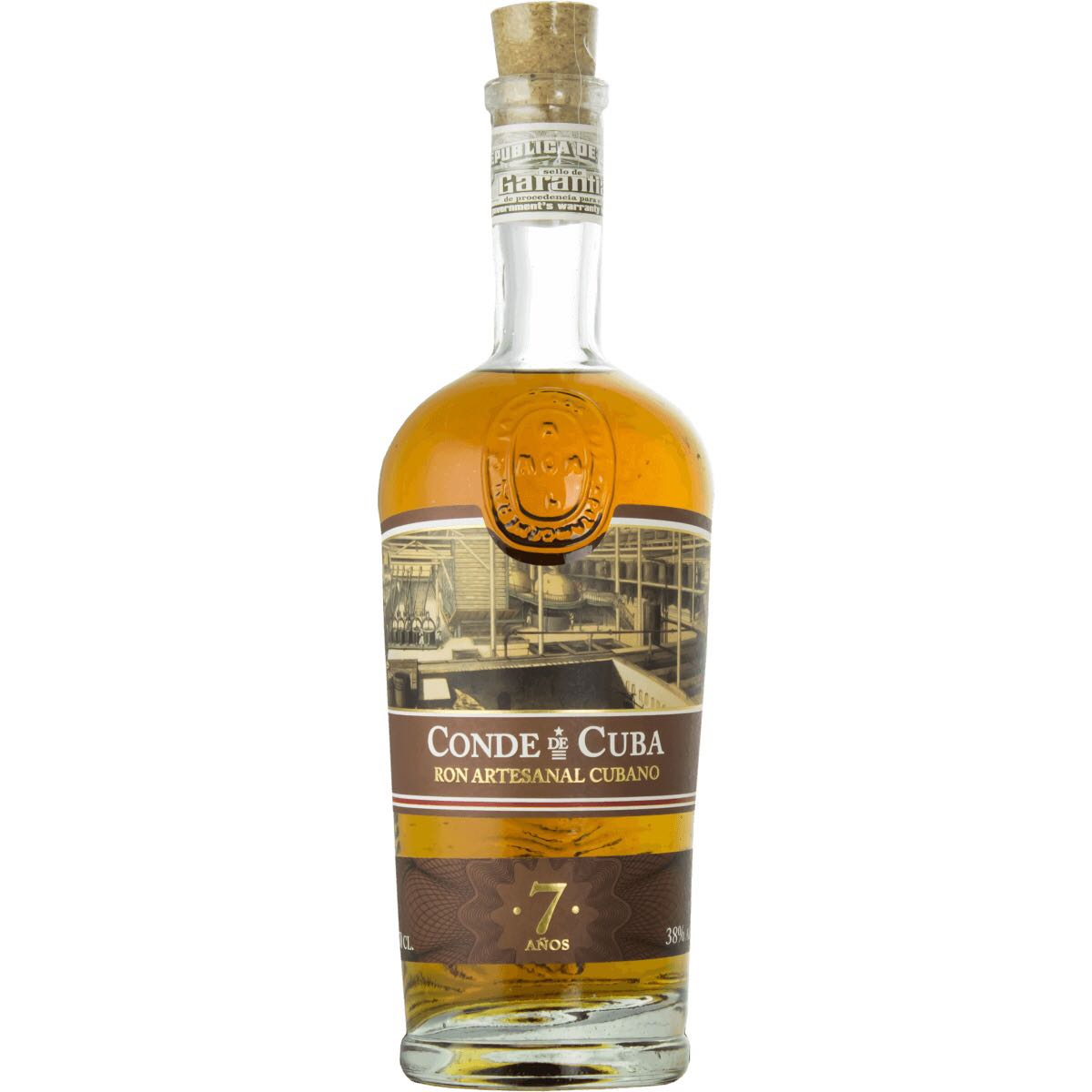 Bottle image of 7 Años