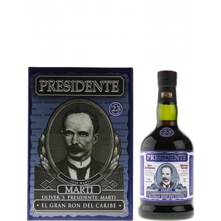Bottle image of Presidente Marti 23 Años