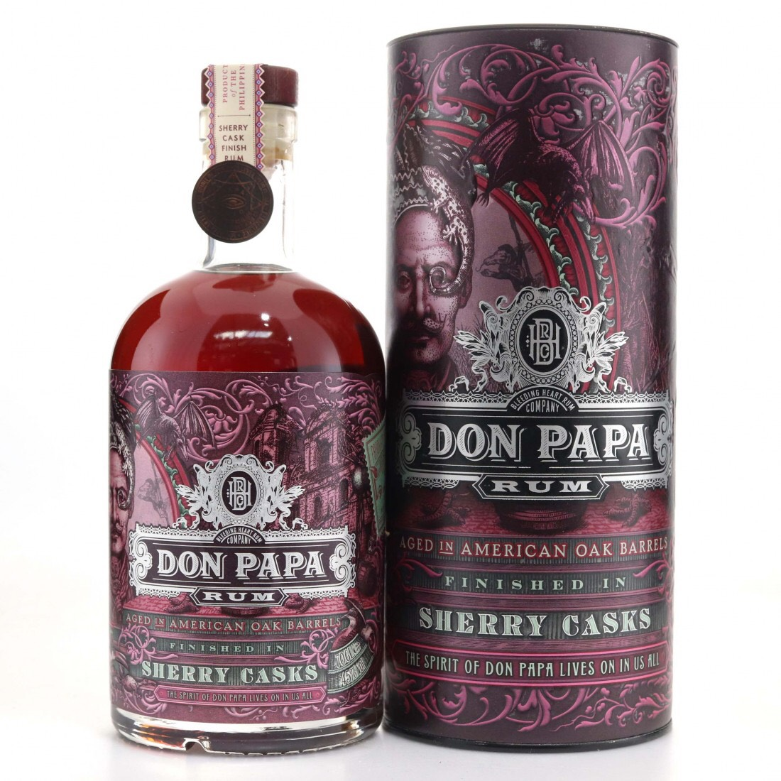 Bottle image of Don Papa Sherry Cask