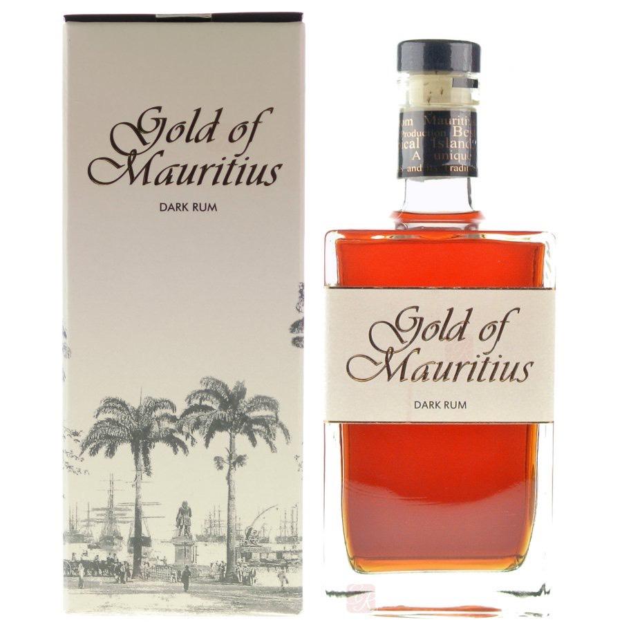 Bottle image of Gold of Mauritius Dark Rum