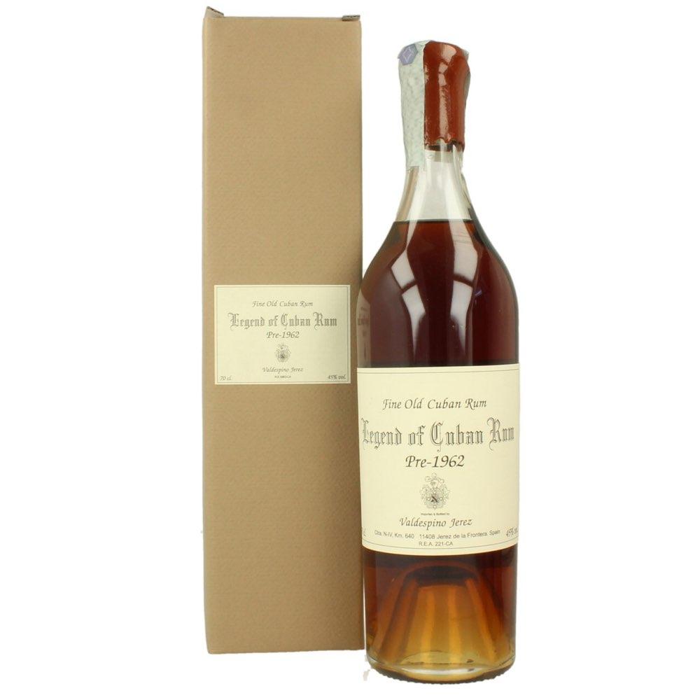 Bottle image of Legend of Cuban Rum Pre-1962