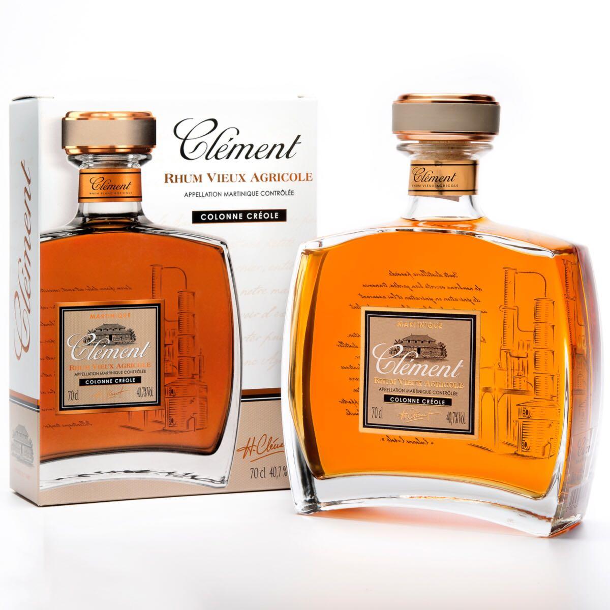Bottle image of Clément Vieux Colonne Créole