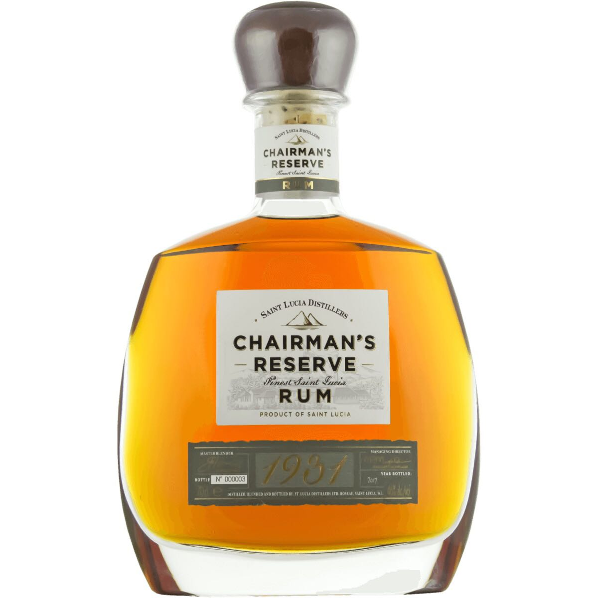 Bottle image of Chairman's Reserve 1931