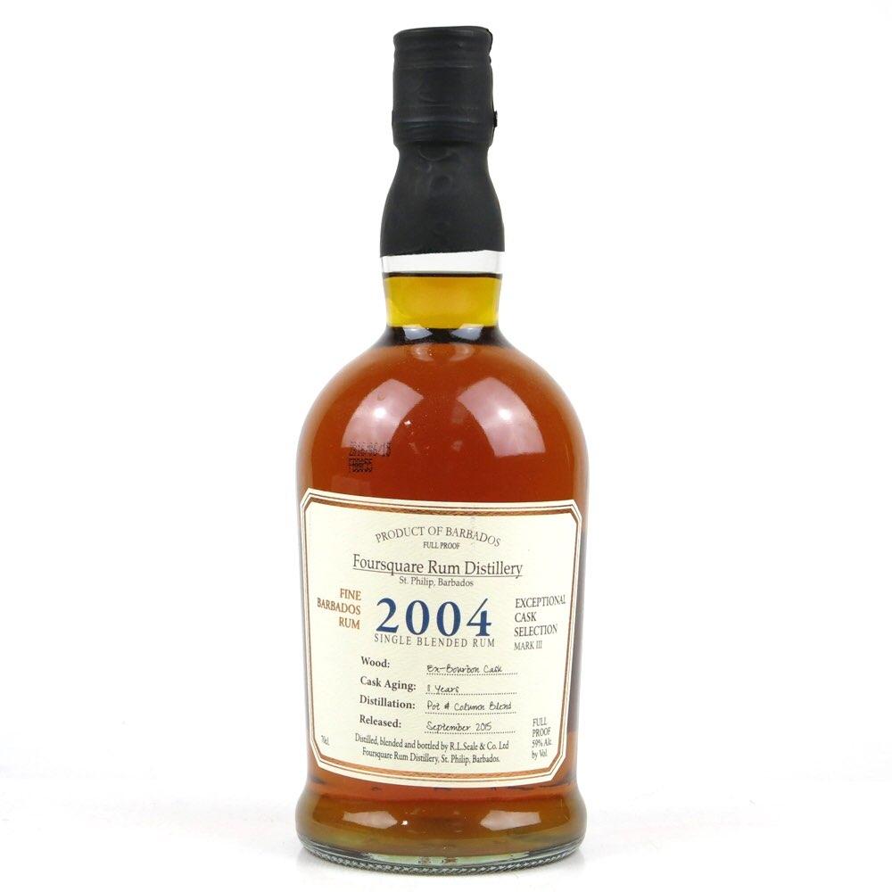 Bottle image of Exceptional Cask Selection III 2004