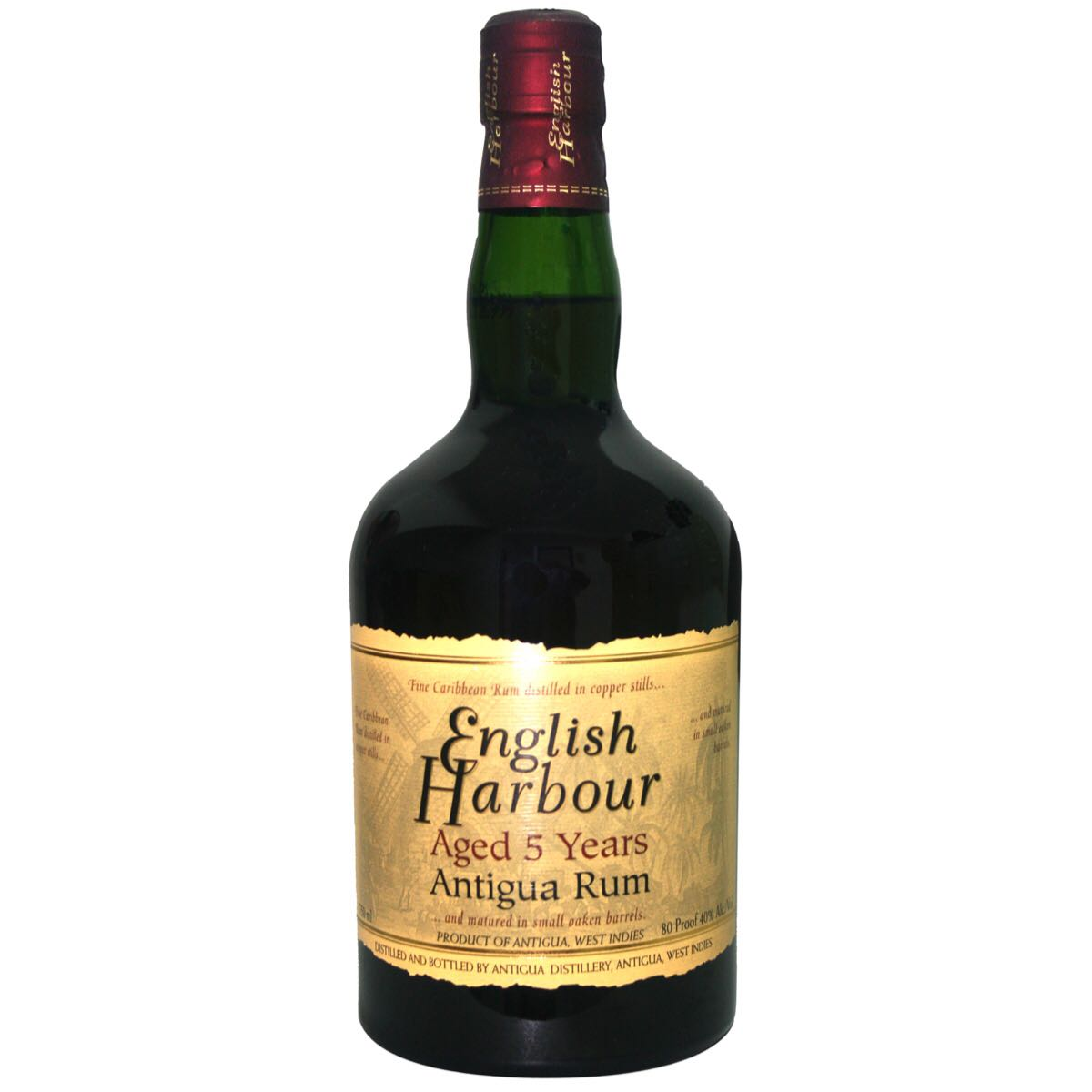 Bottle image of English Harbour 5 Years