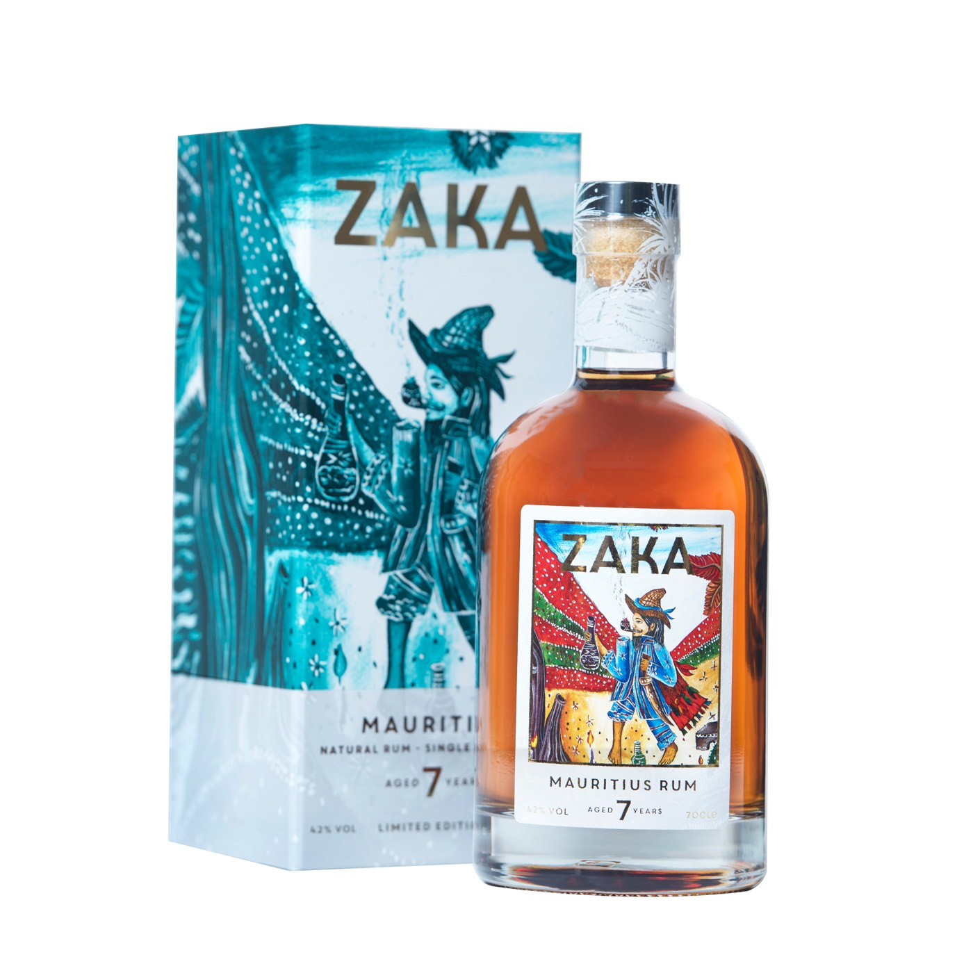Bottle image of Zaka Mauritius