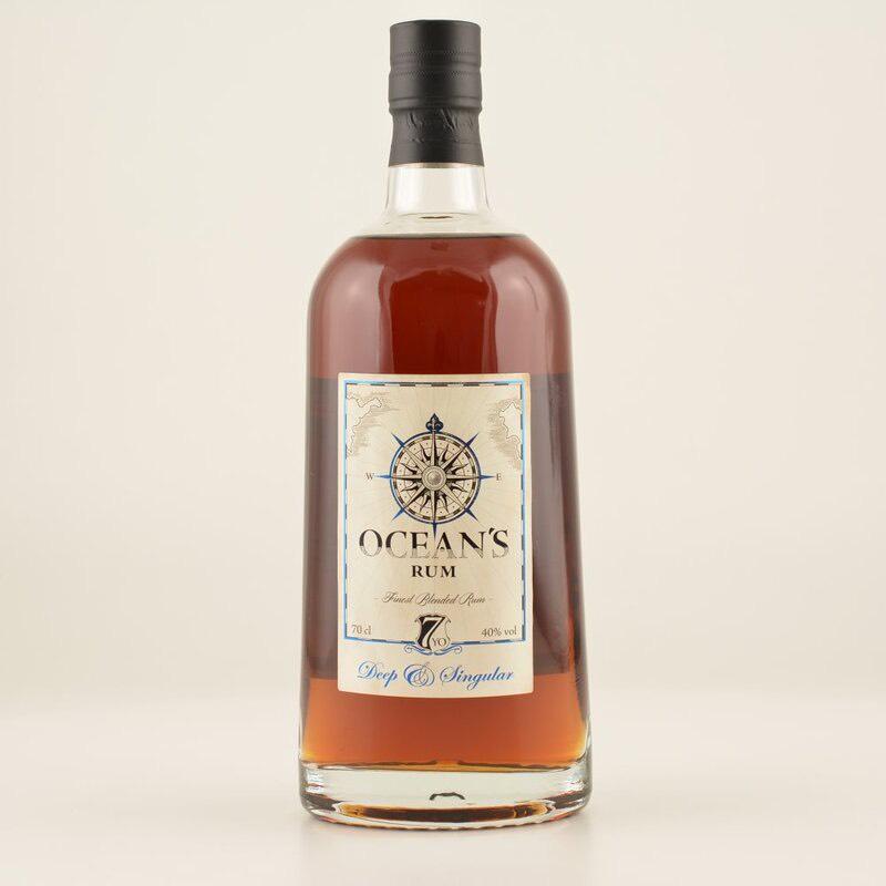 Bottle image of Ocean's Rum - Deep & Singular