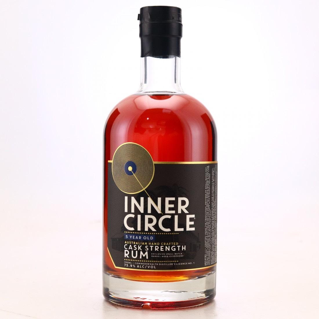 Bottle image of Cask Strength Rum