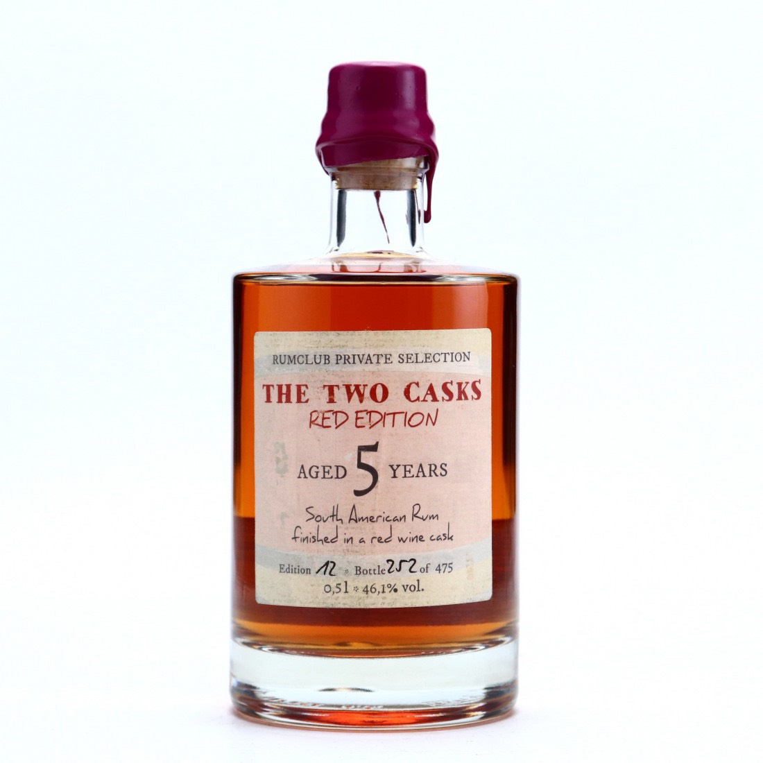 Bottle image of Rumclub Private Selection Ed. 12 The Two Casks Red Edition