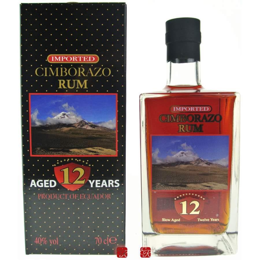Bottle image of Cimborazo Rum 12