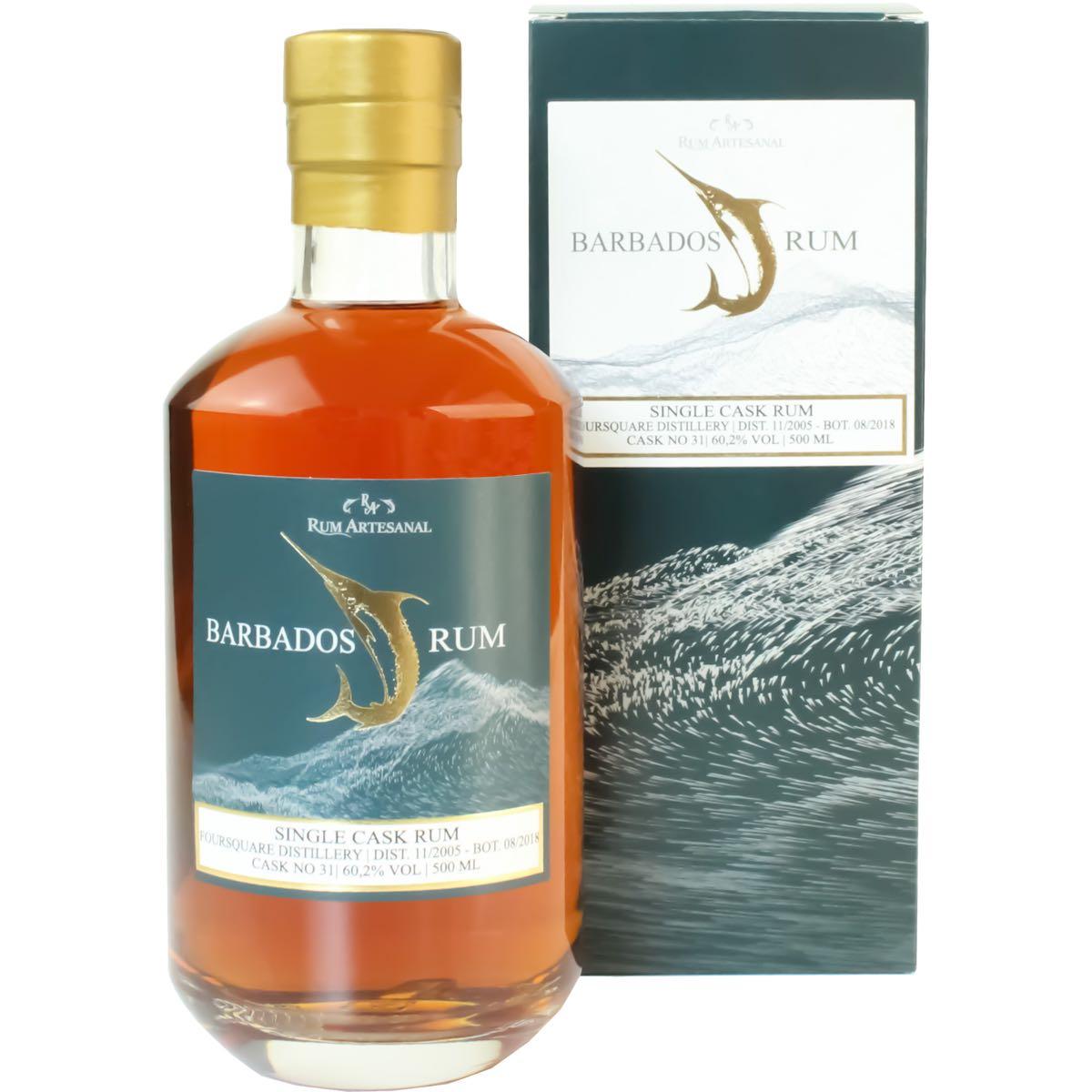 Bottle image of Rum Artesanal Barbados Rum