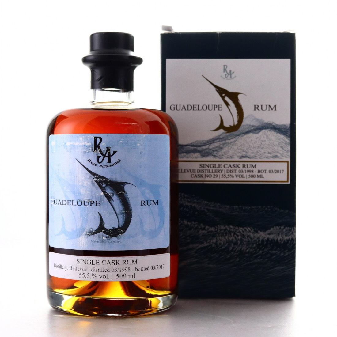 Bottle image of Rum Artesanal Guadeloupe Rum