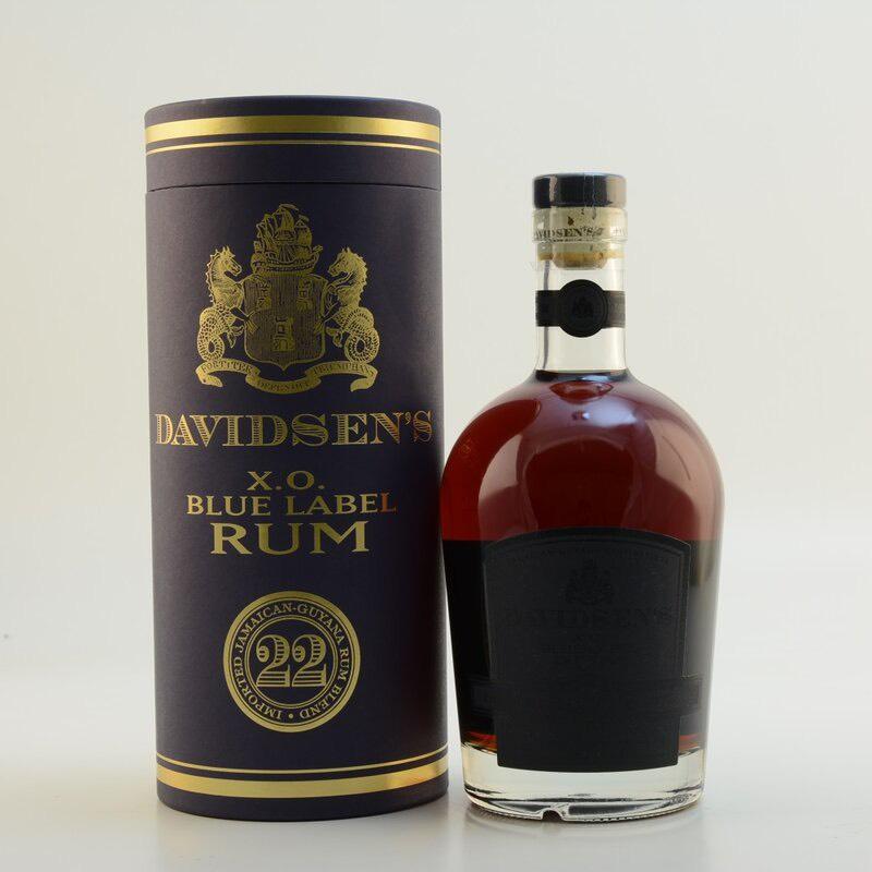 Bottle image of Davidsen's XO 22 Blue Label